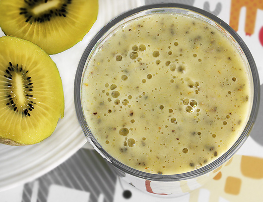 Golden Kiwi Almond Shake