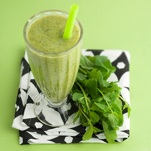 Om Nom Ally - Healthy Shamrock Smoothie