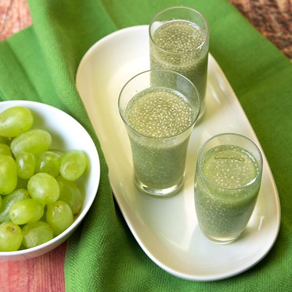 Grape Chia Jelly Shots | Om Nom Ally