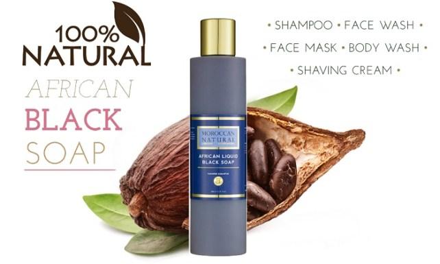 black soap moroccan