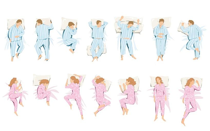sleep postions