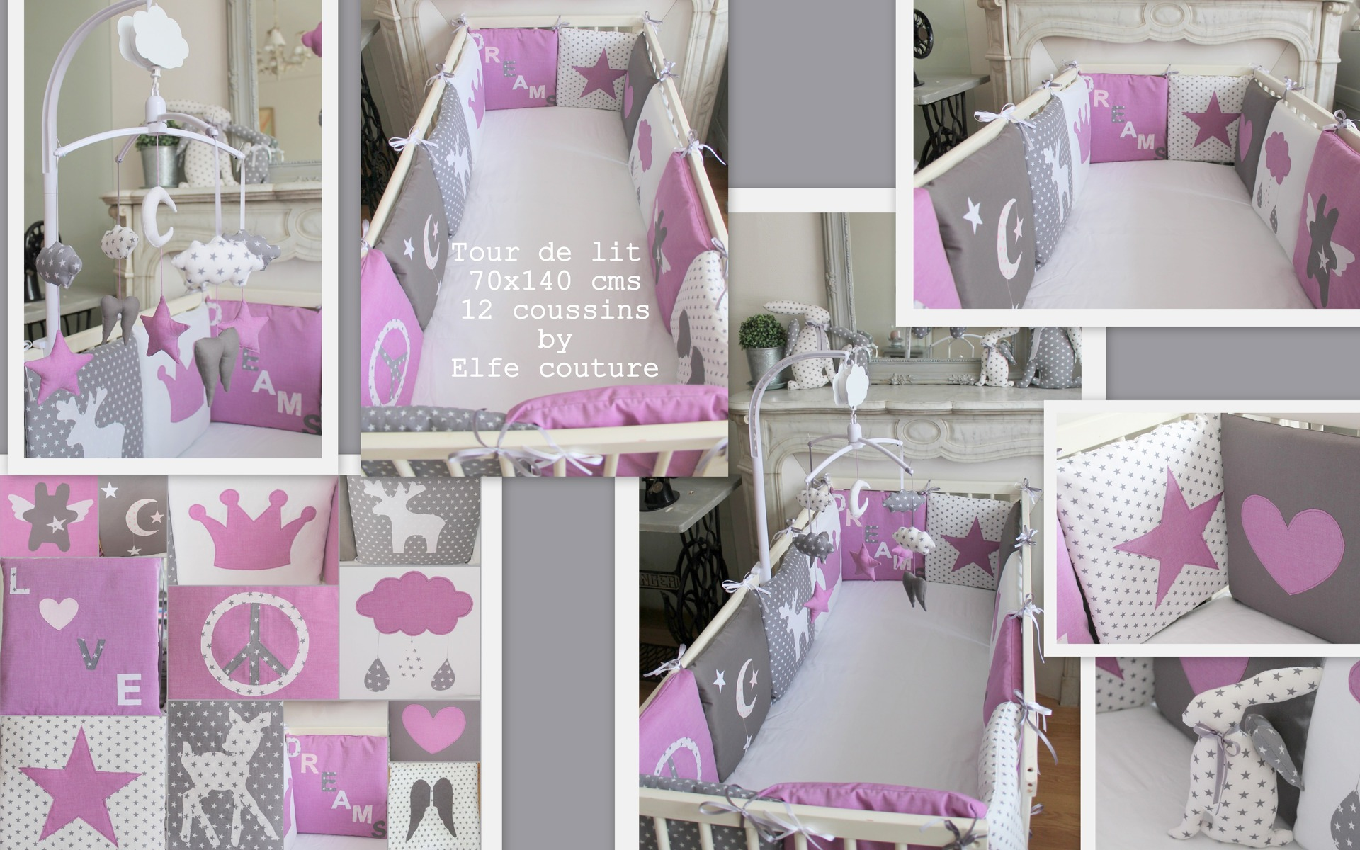 Linge De Lit 70x140 Stunning Tour De Lit Bebe Gris Et Rose Ideas Awesome