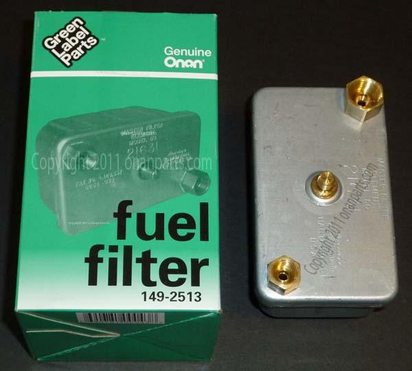 149-2513 HDKCC Fuel Filter 149-2513 - $2400  Onan PartsCom