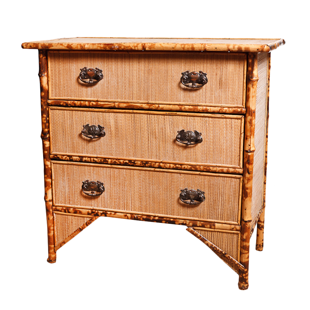 Bambus English English Antique Bamboo Chest : On Antique Row - West Palm