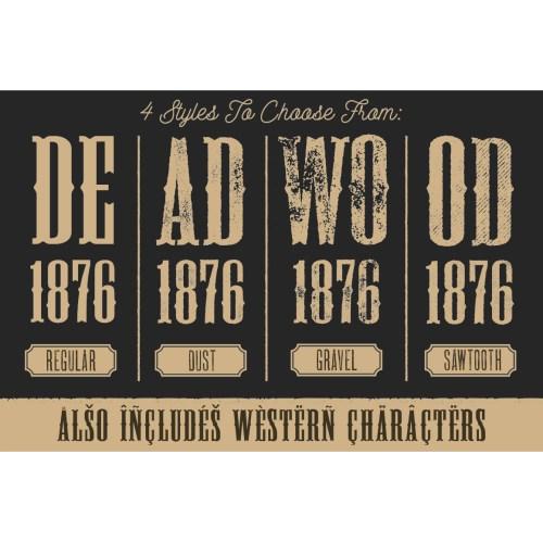 Medium Crop Of Old West Fonts
