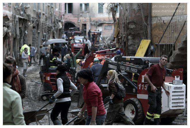 Cinque Terre Flood:  Vernazza Clean Up Progress (1/6)