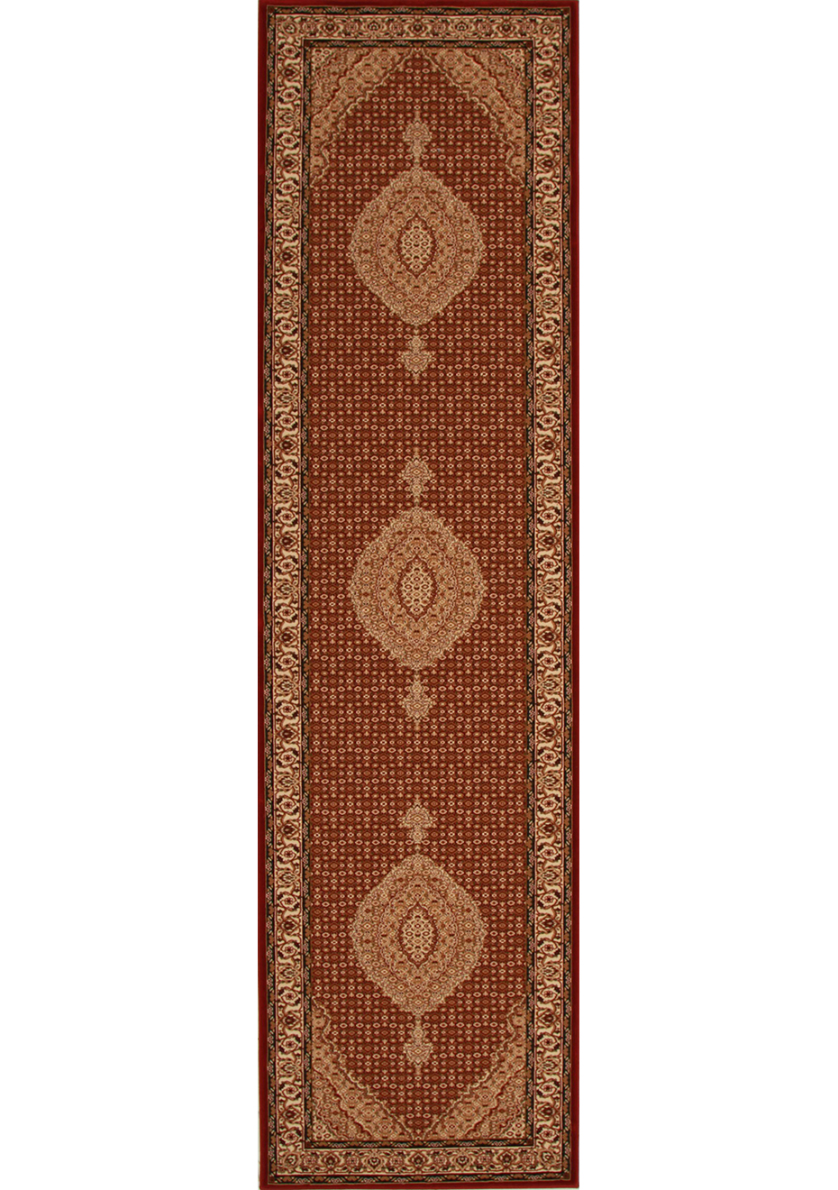 Hall Runners By The Metre Sienna Large Red 1 5 Million Point Mahi Runner Rug 400x80cm By Rug Culture