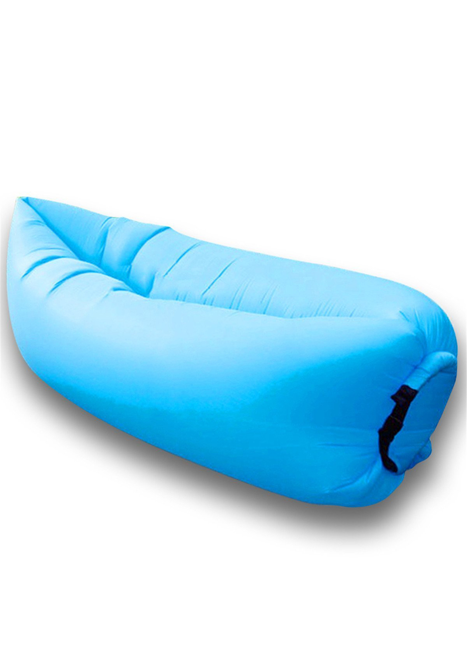 Big Inflatable Couch Inflatable Lounger Blue