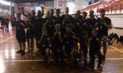 Nacional de Kickboxing: 15 atletas, 15 medalhas e um prémio por equipas