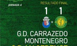 GDM carimba primeiro empate e segue com quatro pontos para a 5ª Jornada