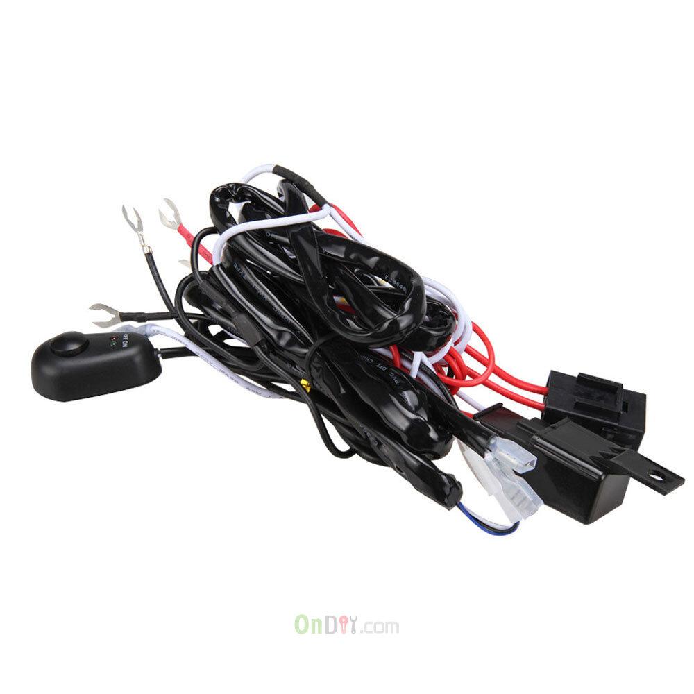 9 volt wiring harness