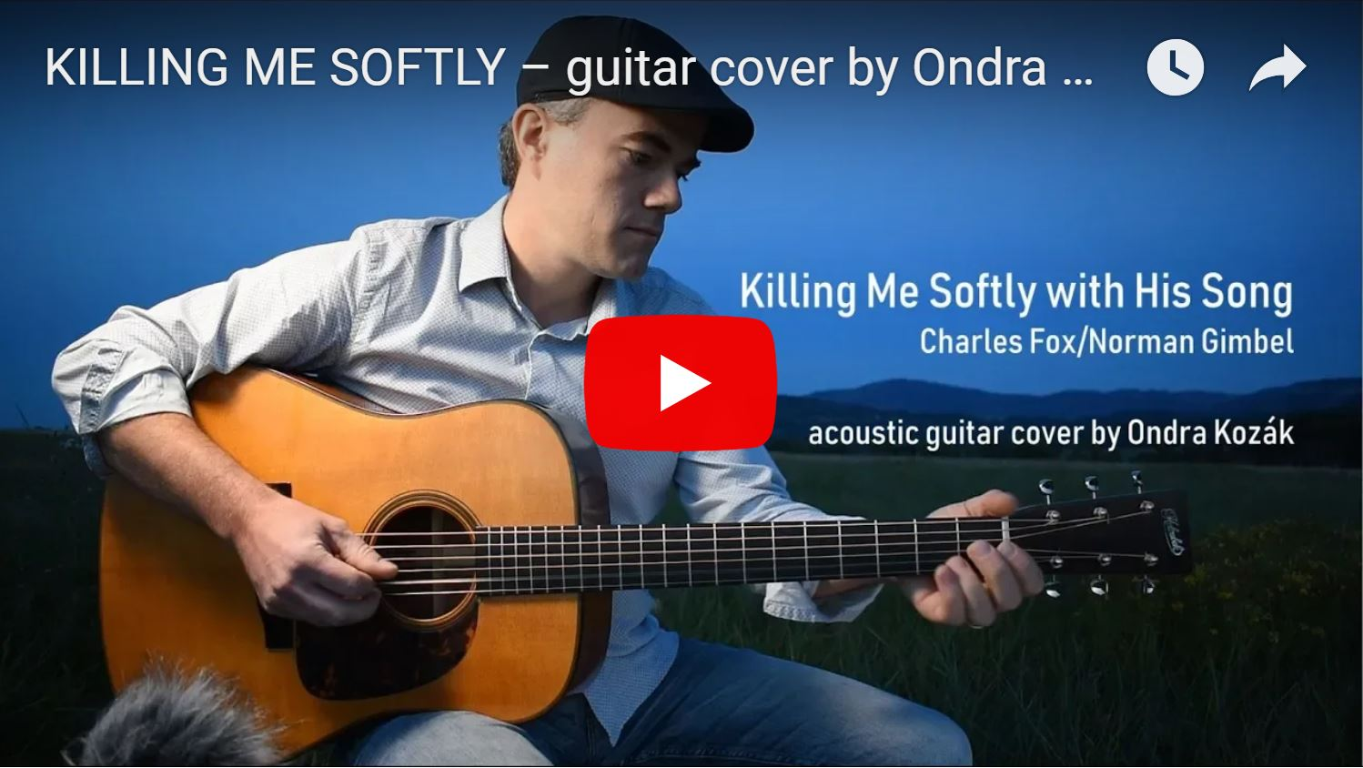 Killing Me Softly – another song for my new album