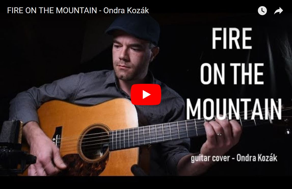 Fire On The Mountain – flatpicking z jiného úhlu