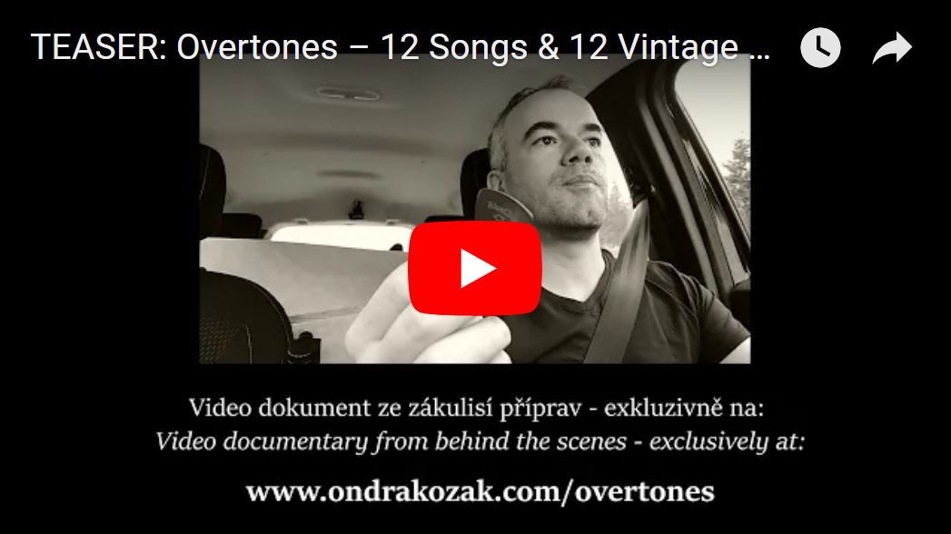"TEASER from ""Overtones – 12 Songs & 12 Vintage Guitars"""