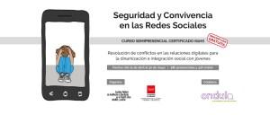 Curso de seguridad y convivencia en redes sociales. Prevención de ciberbullying. Ondula.