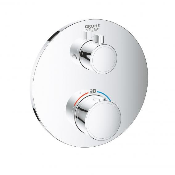 Grohe Duschpaneel grohe Up Thermostat Duscharmaturen Set Grohterm2000 ...