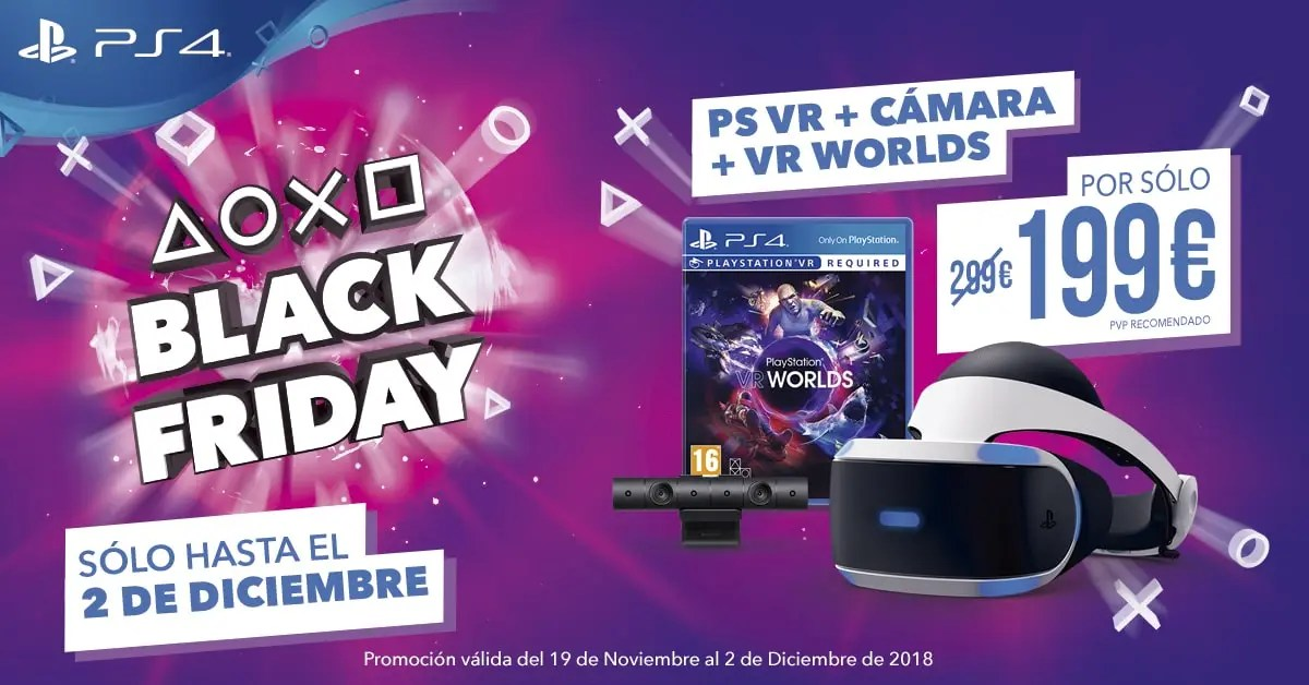 Black-friday.de Playstation Vr Con Cámara Y Vr Worlds Con 100€ De Descuento