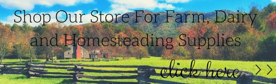 shop online for farm dairy and homesteading supplies