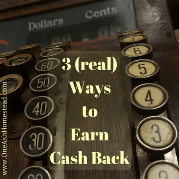 3 (real)WaystoEarnCash Back
