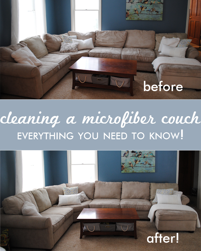 Sofa Foam Cleaner Cleaning A Microfiber Couch All You Need To Know One