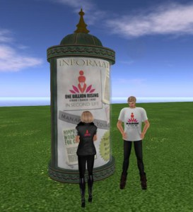 Don't miss the information kiosks at One Billion Rising!