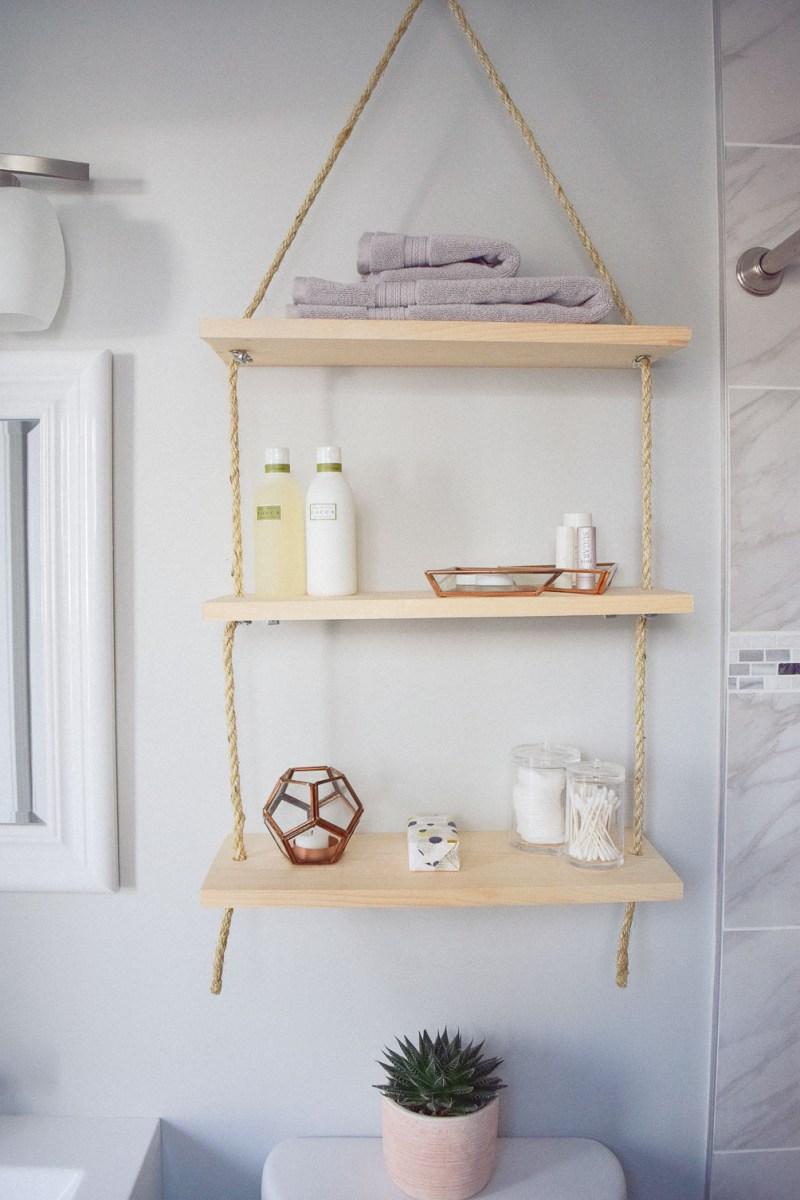 Large Of Bathroom Hanging Shelf