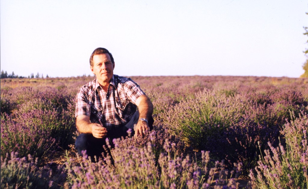 Gary Young in Lavender