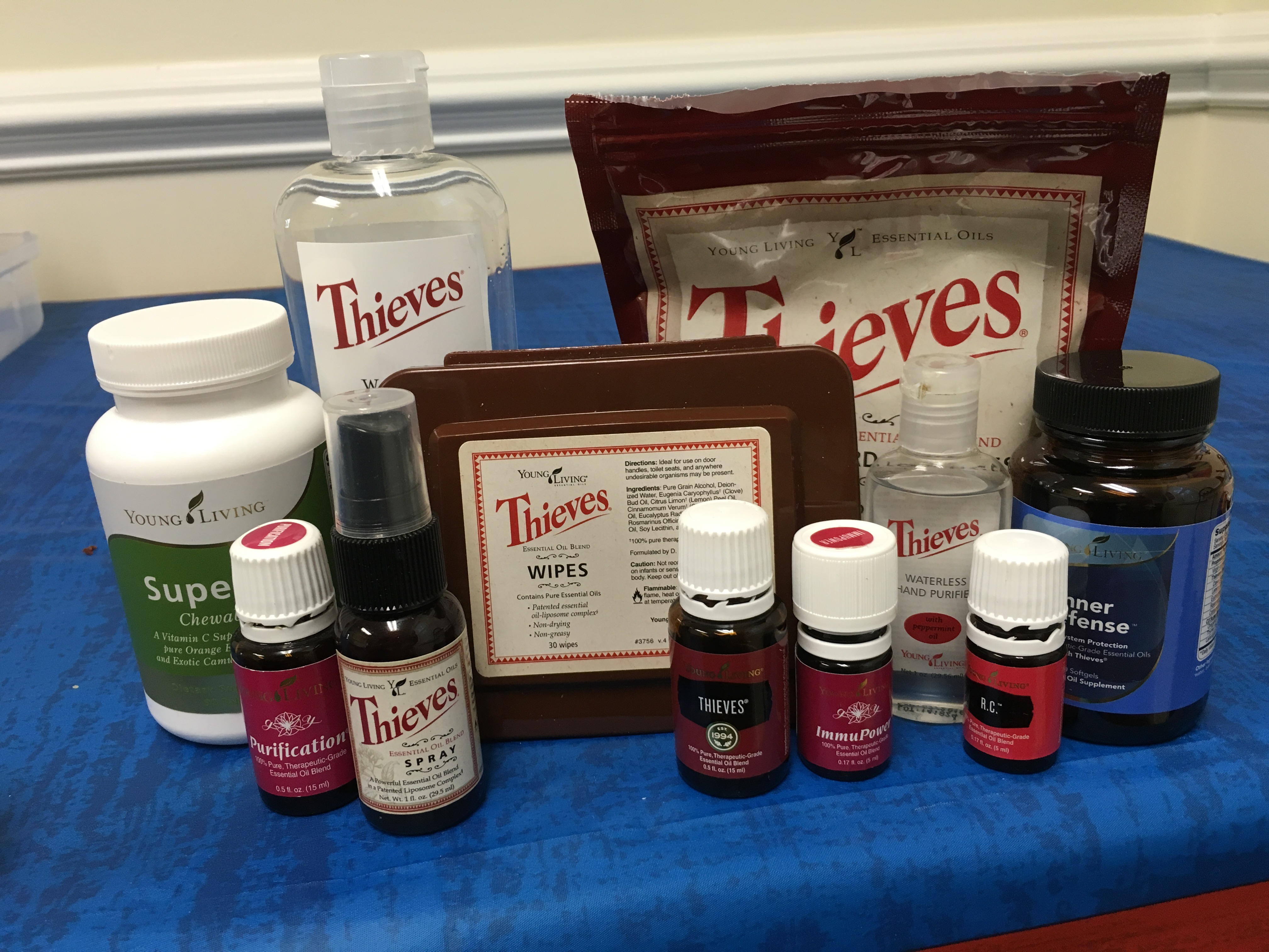 Staying Healthy Products - Back to School In Person Class