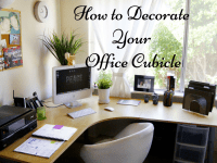 How To Decorate Your Office Cubicle - To Stand Out in the ...