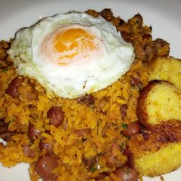 Colombian fried rice