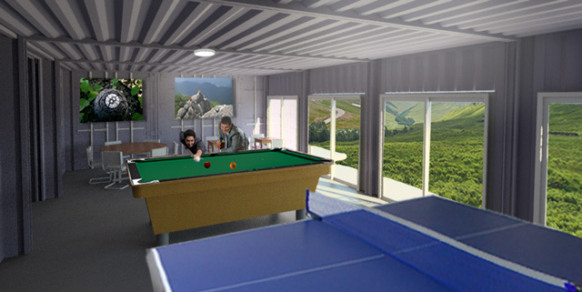 Pool Aus Container Shipping Container Village - One Community Open Source
