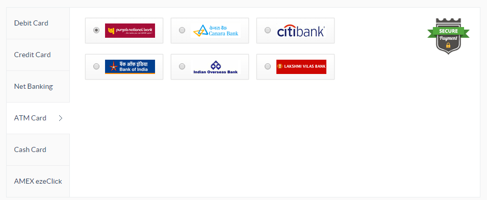ATMCard Payment Gateway
