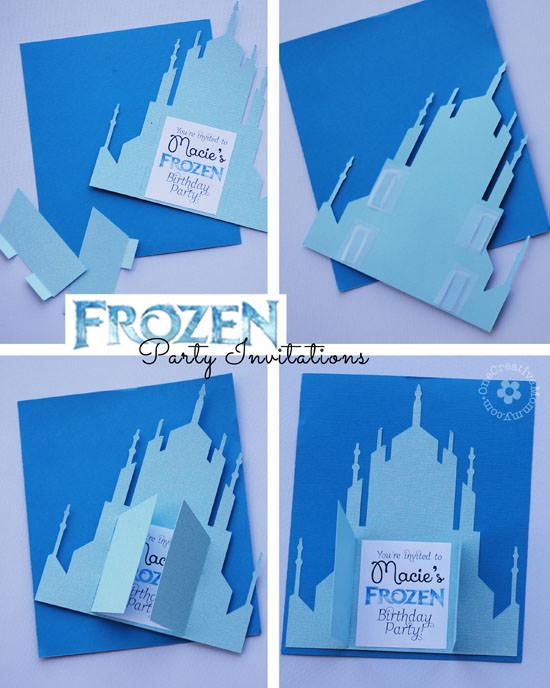 Frozen Birthday Invitations - 2 Designs! - onecreativemommy