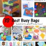 Best Busy Bags For Preschool And Toddlers