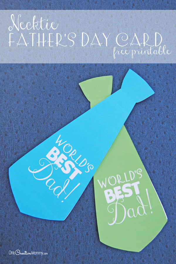 Surprise Dad with a Cute Necktie Father\u0027s Day Card - father day cards