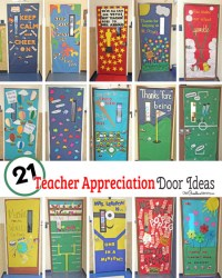 21 Awesome Teacher Appreciation Door Ideas ...