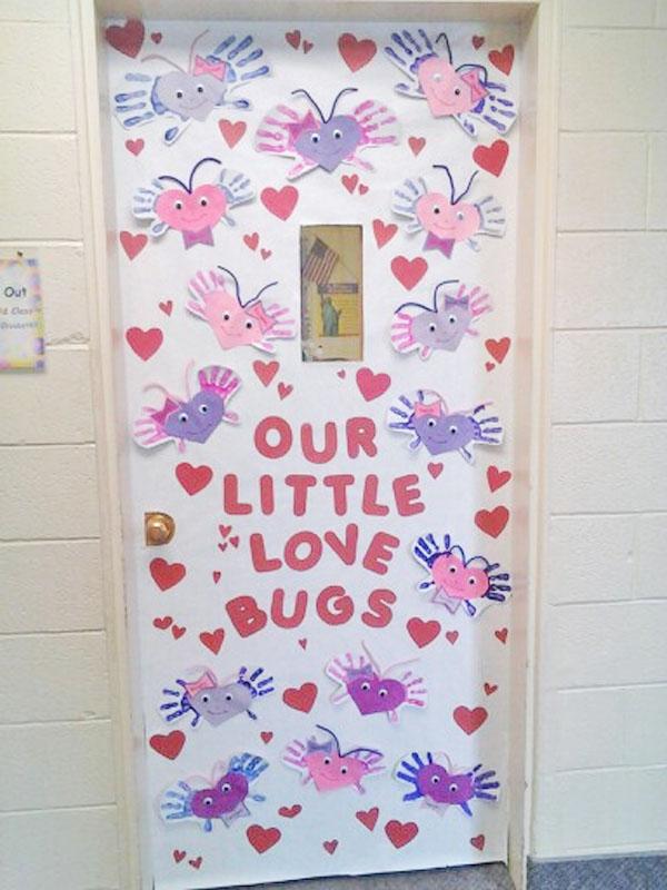 Valentines Classroom Door Decorations
