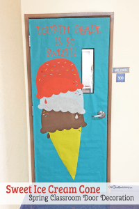 Easy Classroom Door Idea for Spring