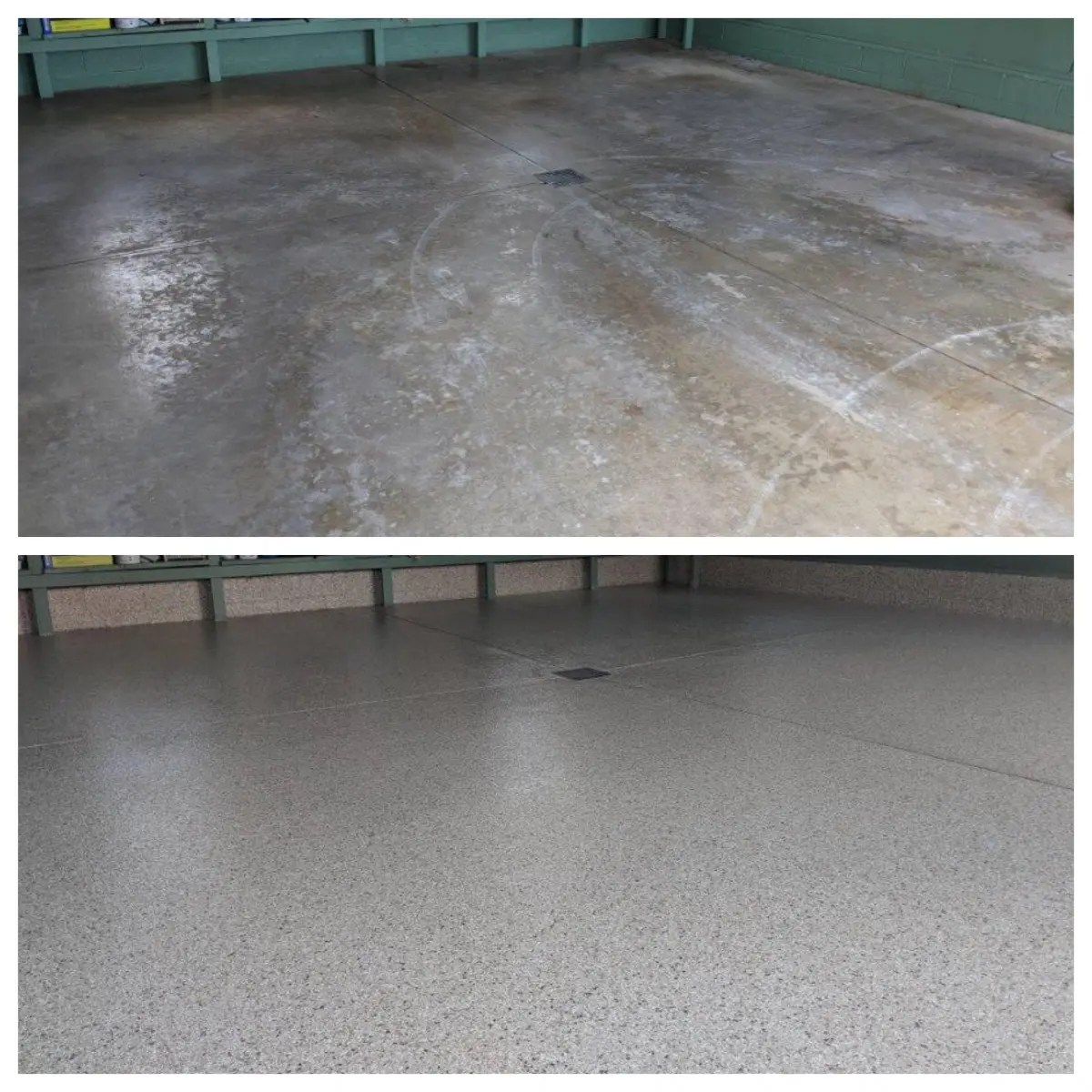 How To Repair Epoxy Floor Coating One Day Custom Floors Concrete Resurfacing Floor Coatings