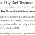 One Day Diet Reviews