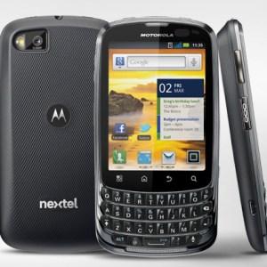Nextel y Motorola Mobility Lanzan Motorola MASTER TOUCH