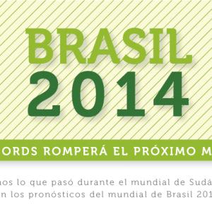El mundial de fútbol Brasil 2014 albergará una conversación  sin precedentes en redes sociales y las marcas buscarán destacar con conversaciones relevantes