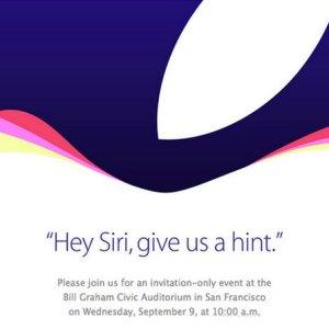 Apple confirma los rumores y anuncia evento para el próximo 9 de Septiembre en San Francisco