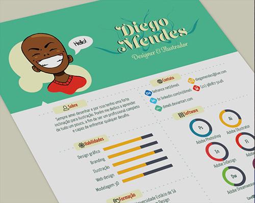 50 Simple  Creative Resume (CV) Design Ideas / Examples For 2017 - creative resume