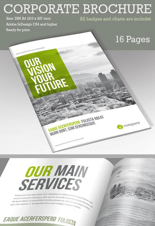 50+ Best Bi-Fold Brochure Design Templates Inspiration For Graphic