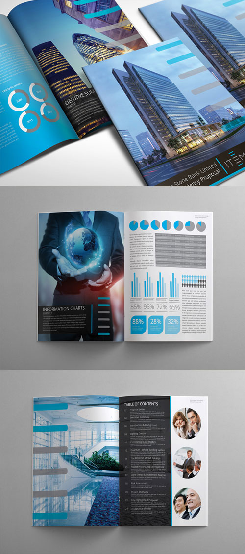 Technology Brochure Template Gallery Template Design Free Download
