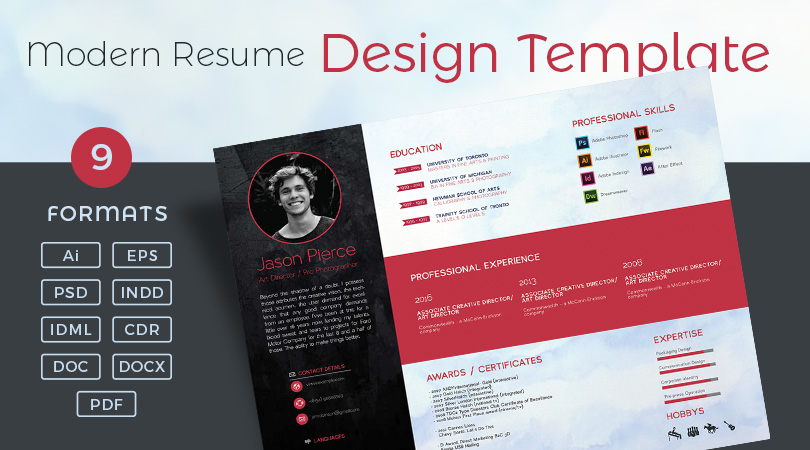 Resume Design \u2013 One Dollar Graphics - Resume Design