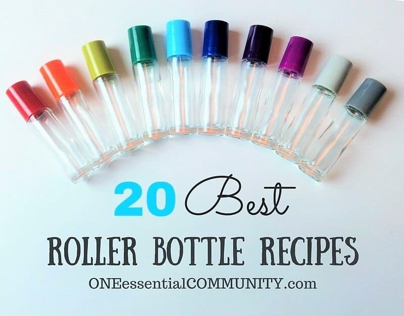 Roller Bottle Blend Recipes with Free Printable Labels - ONE - christmas list templates