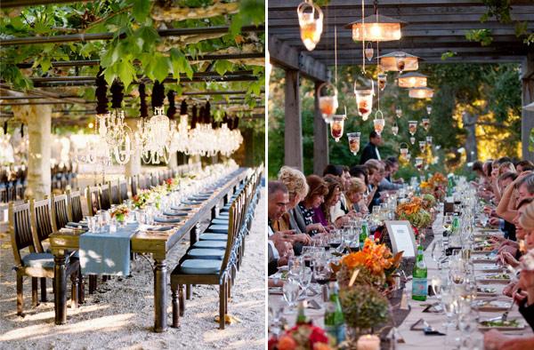 Long Tables Wedding Ideas Long Tables OneFabDay