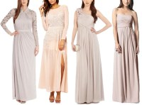 Beautiful Blush Bridesmaid Dresses  12 Fab Favourites ...